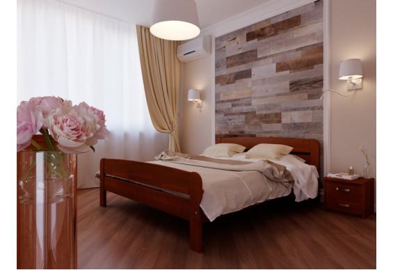 Двоспальне ліжко НеоМеблі Октавія С2 140х200 (NM21/200)
