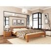 Двоспальне ліжко Естелла Рената 160х200 буковий масив (DV-35)