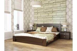 Двоспальне ліжко Естелла Селена Аурі з підйомним механізмом 160х200 буковий щит (DV-20)