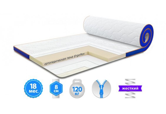 Футон Sleep&Fly Super Flex Стрейч 90x200 см (3003750902003)