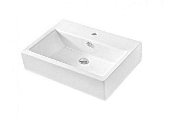 Підвісний умивальник ArtCeram Fuori box 65, white (TFL0250100)
