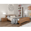 Двоспальне ліжко Естелла Венеція 160х200 буковий масив (DV-05)