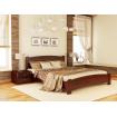 Двоспальне ліжко Естелла Венеція Люкс 180х200 буковий щит (DV-15)