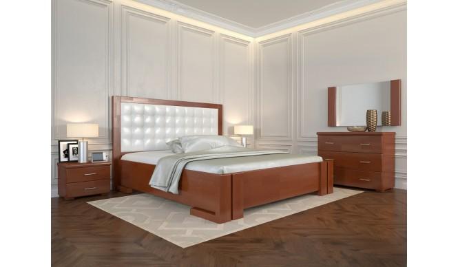 Двоспальне ліжко Арбор Древ Амбер з підйомним механізмом 160х190 бук (ADB160.2)