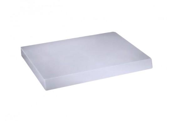 Сидіння soft-close з кришкою для унітазу ArtCeram Block, matt white (BKA00205)
