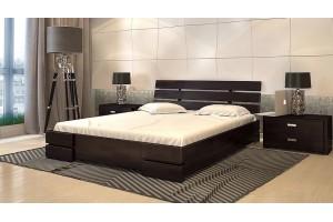 Двоспальне ліжко Арбор Древ Далі Люкс з підйомним механізмом 160х200 бук (DLB160)