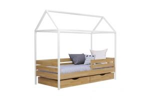 Двоярусне ліжко Естелла Аммі 90х190 буковий щит (EAMMI-01)