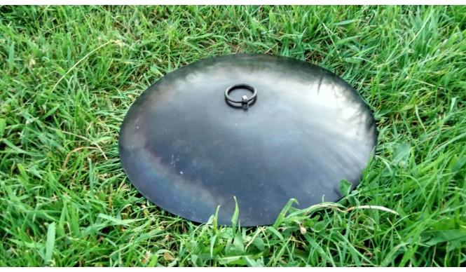 Кришка для мангалу-сковороди ДекоДім діаметром 30 см (SH-PA-08)