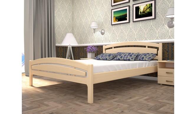 Двоспальне ліжко ТИС Модерн 2 180x200 дуб (TYS459)