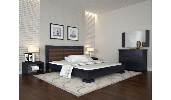 Двоспальне ліжко Арбор Древ Монако 180х200 бук (AM180)