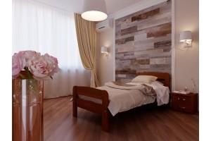 Односпальне ліжко НеоМеблі Октавія С2 120х190 (NM9)