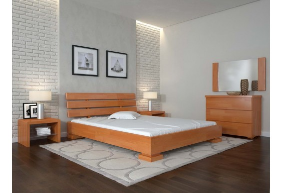 Двоспальне ліжко Арбор Древ Премєр 140х200 сосна (PP140)