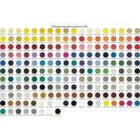 Ширма ДекоДім Економ на 3 секції 150х170 см, чорно-біла (DK11-05)