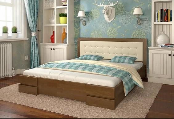Двоспальне ліжко Арбор Древ Регіна 160х200 сосна (DS160)