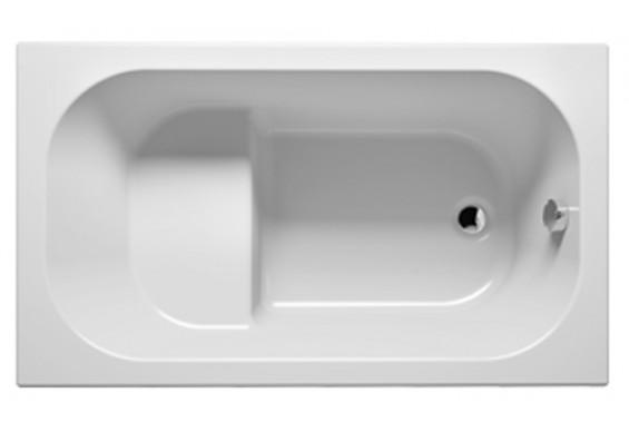 Ванна Riho Petit пряма 120x70 см + ніжки (BZ25)