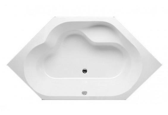Ванна Riho Winnipeg шестигранна 145x145 см + ніжки (BA48)