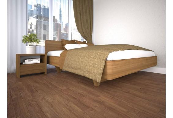 Односпальне ліжко ТИС Ліана 120x190, дуб (TYS905)