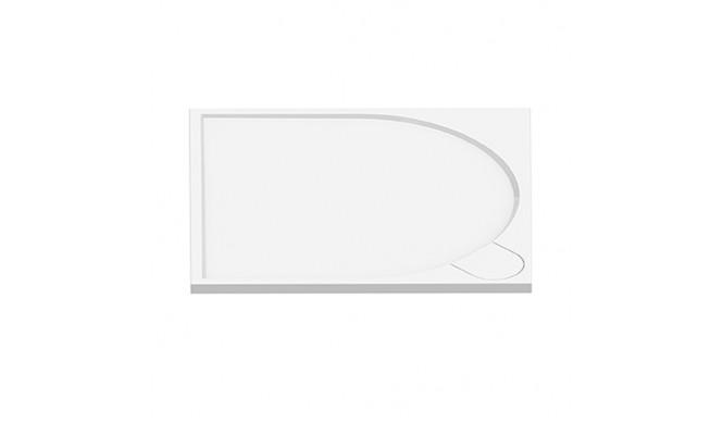 Душовий піддон NEW TRENDY FLUO 90x90x3 см (B-0352)