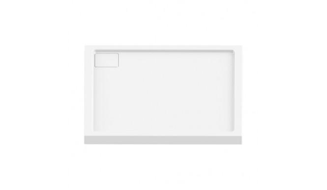 Душовий піддон NEW TRENDY LIDO 80x80x5,5 см (B-0320)