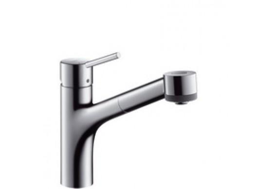 Змішувач для кухні Hansgrohe Talis S з витяжним душем (32841000)