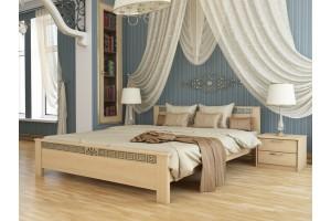 Двоспальне ліжко Естелла Афіна 160х190 буковий масив (DV-29.2)