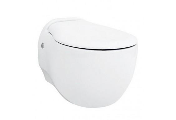 Підвісний унітаз ArtCeram Blend, matt white (BLV0010500)
