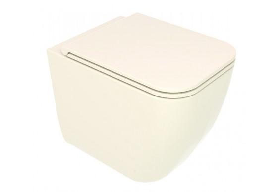 Унітаз підлоговий GSG BRIO 52,5 см Smart Clean glossy Pergamon (BRWC01013)