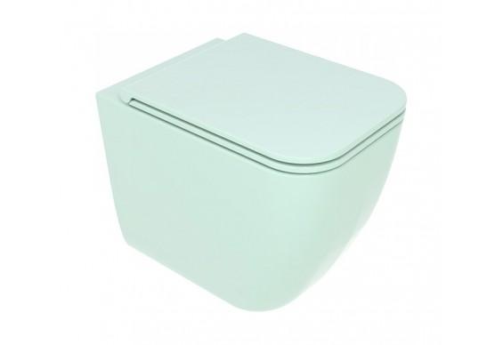 Унітаз підлоговий GSG BRIO 52,5 см Smart Clean glossy Water (BRWC01024)