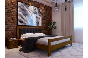 Двоспальне ліжко НеоМеблі Цезар 180х200 (NM32/200)