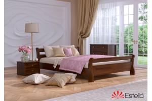 Односпальне ліжко Естелла Діана 120х190 буковий щит (OL-09)