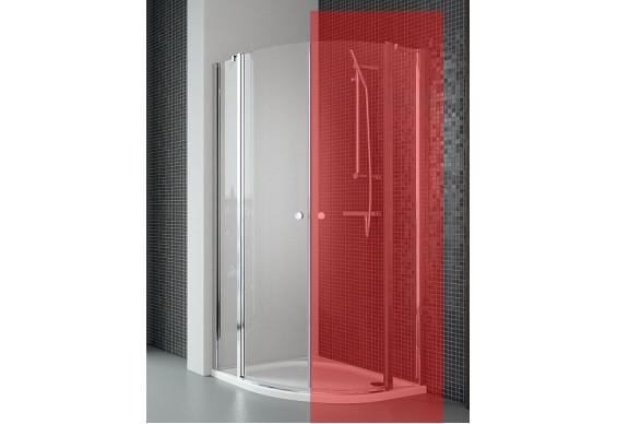 Ліва частина душової кабіни Radaway Eos II PDD 80, прозоре (3799470-01L)