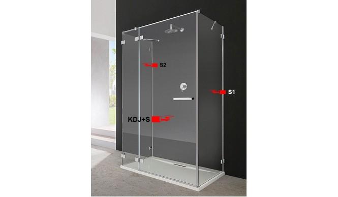 Двері для душової кабіни Radaway Euphoria KDJ+S 100 ліві (383022-01L)