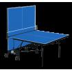 Стіл для настільного тенісу GSI-sport Compact Premium 274x152,5x76 см Blue