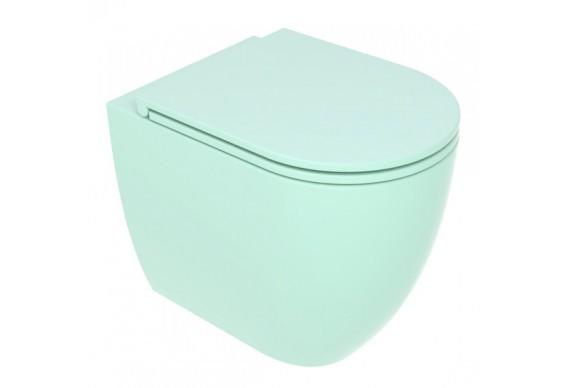 Унітаз підлоговий GSG LIKE 52,5 см Smart Clean matt Water (LKWC01025)