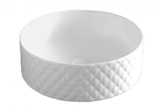Умивальник на стільницю ArtCeram Rombo, white (OSL0090100)