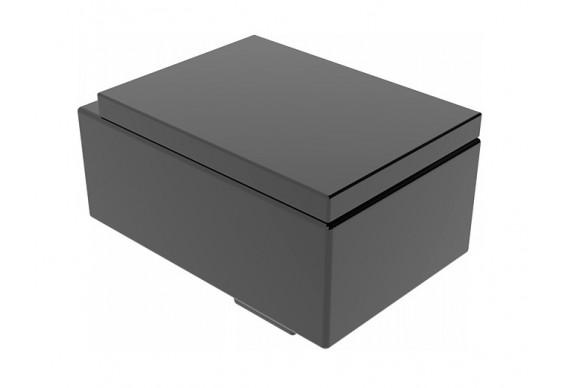 Підвісний унітаз GSG OZ 53 см glossy Black (OZWCSO002)
