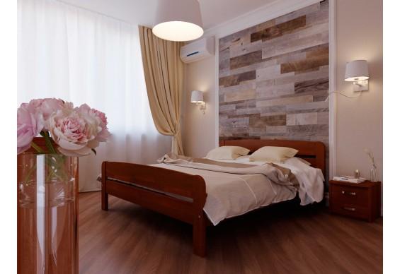 Двоспальне ліжко НеоМеблі Октавія С2 160х200 (NM22/200)