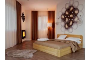 Двоспальне ліжко НеоМеблі Октавія з підйомним механізмом 140х200 (NM38)