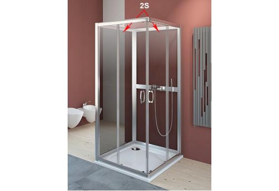 Задні стінки для душової кабіни Radaway Premium Plus 2S 80 (33443-01-05N)