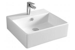Підвісний умивальник ArtCeram Quadro 50, white (QUL0020100)