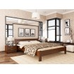 Двоспальне ліжко Естелла Рената 180х200 буковий масив (DV-36)