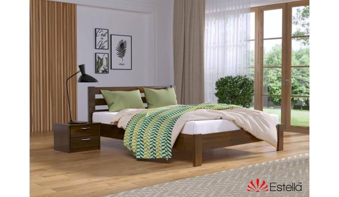 Односпальне ліжко Естелла Рената Люкс 90x200 буковий масив (EST-8)