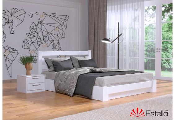 Односпальне ліжко Естелла Селена 120x200 буковий масив (EST-61)