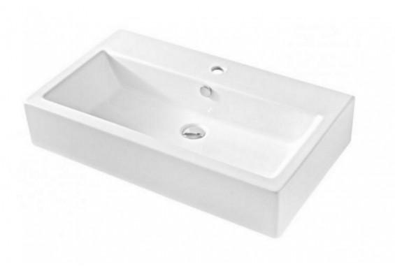 Підвісний умивальник ArtCeram Fuori box 80, white (TFL0260100)
