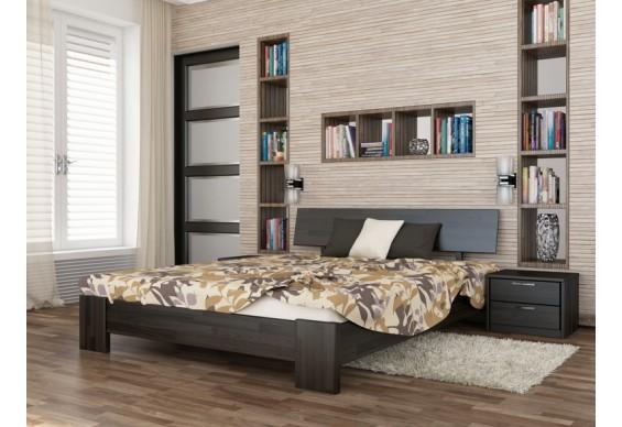 Односпальне ліжко Естелла Титан 120х200 буковий масив (OL-26)