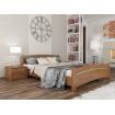 Двоспальне ліжко Естелла Венеція 180х200 буковий масив (DV-06)