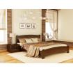 Двоспальне ліжко Естелла Венеція Люкс 140х200 буковий масив (DV-16)
