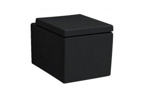 Підвісний унітаз ArtCeram Block, glossy black (BKV0010300)