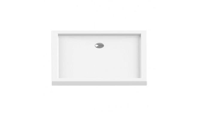 Душовий піддон NEW TRENDY CANTARE 110x90x6 см (B-0169)