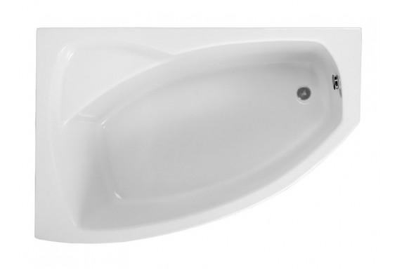 Ванна Polimat Frida асиметрична 150х100, L + ніжки (00974)